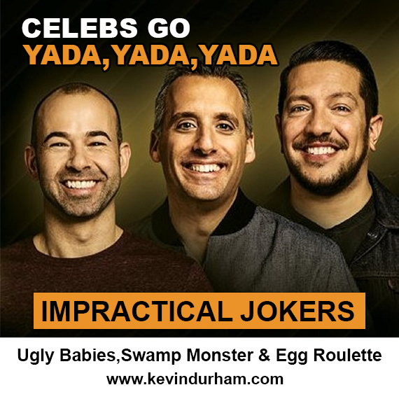 The Impractical Jokers – Punishments & Egg Roulette