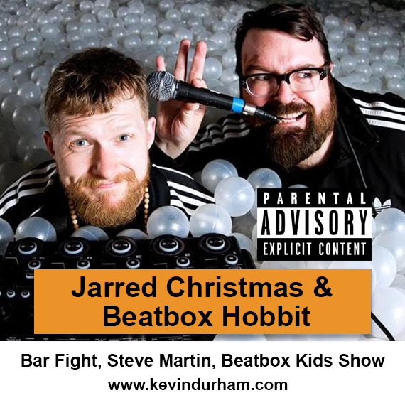 Jarred Christmas and Beatbox Hobbit – Bar Fight, Mighty Kids Beatbox Show – EXPLICIT