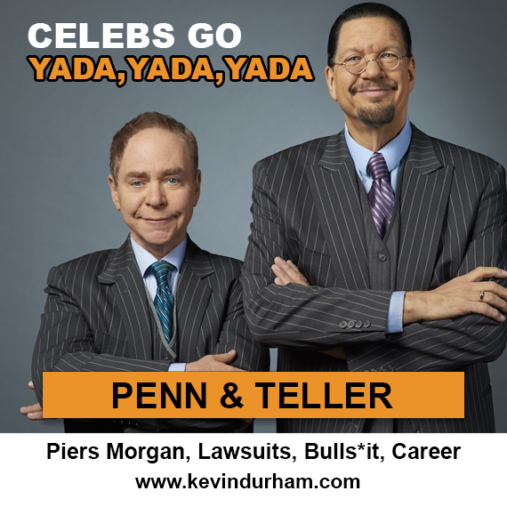 Penn and Teller – Career, Piers Morgan, Lawsuits
